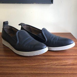 EVERLANE Grey Leather Street Shoe Sneakers Slip On